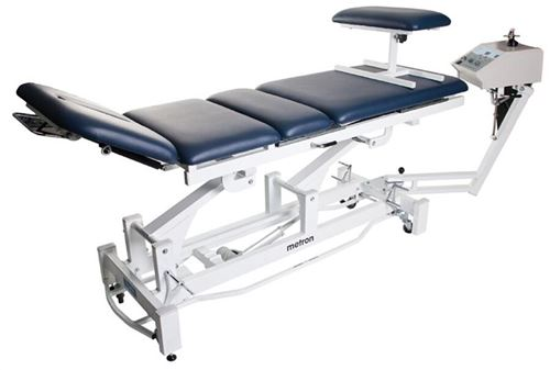 Metron-T8575-Elite-Traction-Table-with-Surround-Bar-60cm-wide-Black-(METETRACBLK)