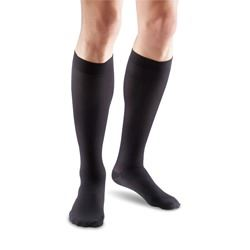Oppo-2826-Travel-Knee-High-Compression-Stockings-Mens-Closed-Toe-Grey-Size-1-18-21mmHg-(OPP-2826-1MGRY)